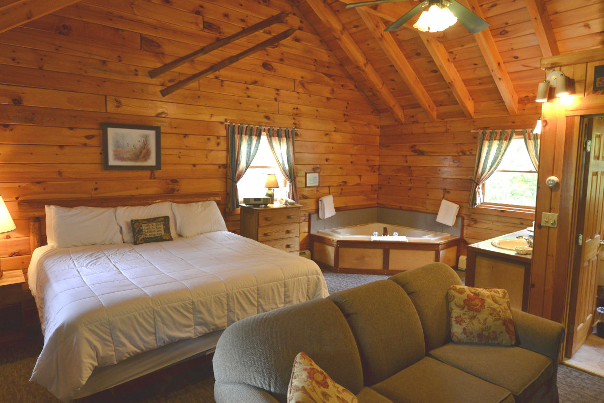 Jacuzzi Log Cabins - Adult Only